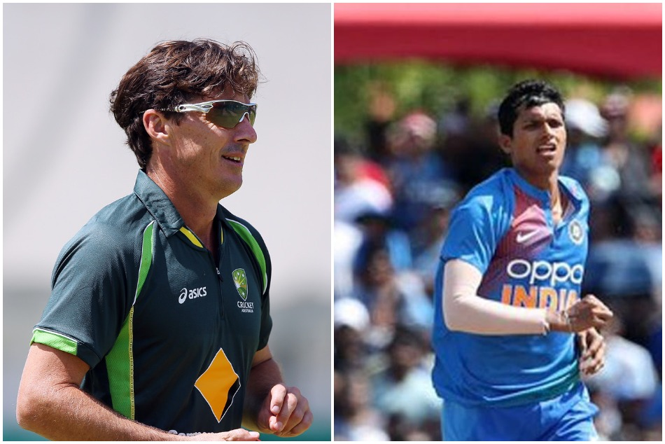 Brad Hogg put Naseem Shah a bit forward against Navdeep Saini in an answer which one is better