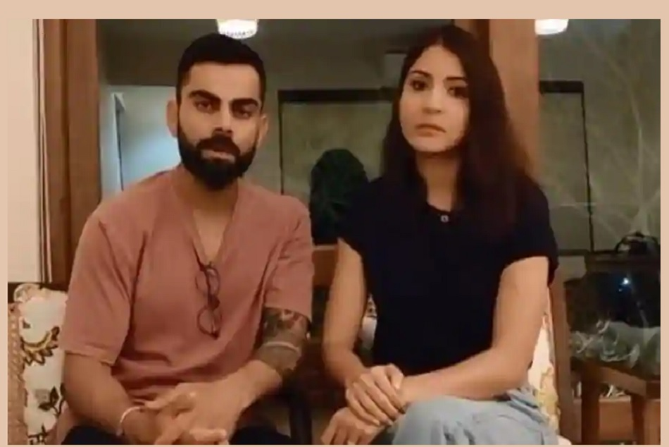 Virat Kohli and Anushka Sharma urges fans to keep social distancing after nation wise lockdown