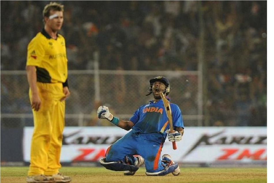 ON This Day: Yuvraj Singh broke dream of Australia to win its fourth consecutive world cup title