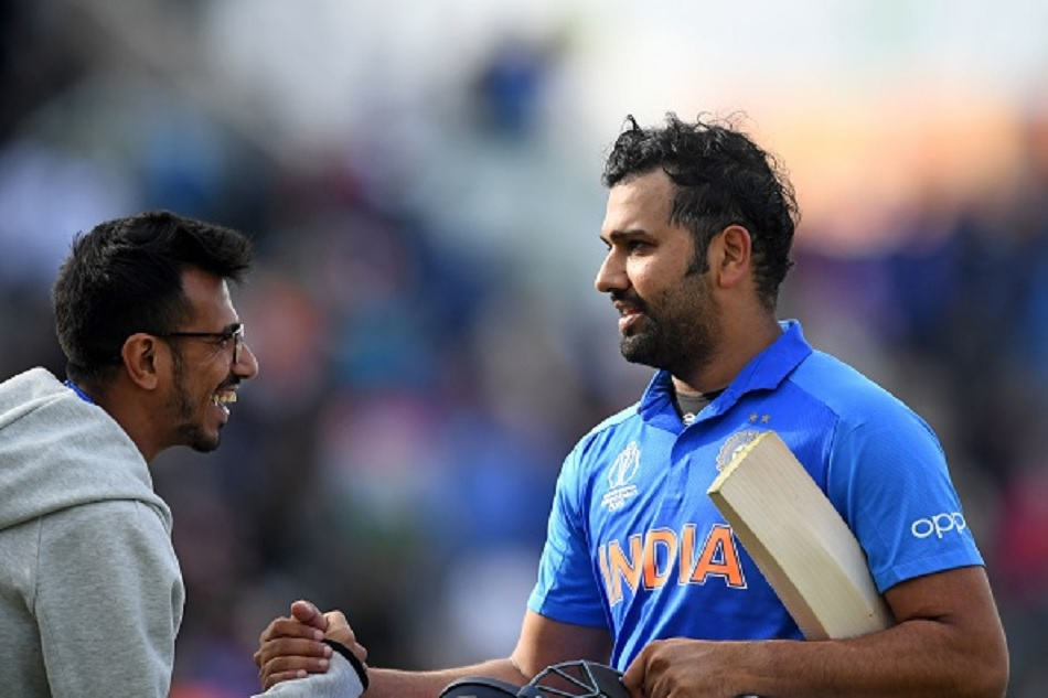 Rohit Sharma trolls Yuzvendra Chahal on his recent tiktok video showing dancing with father