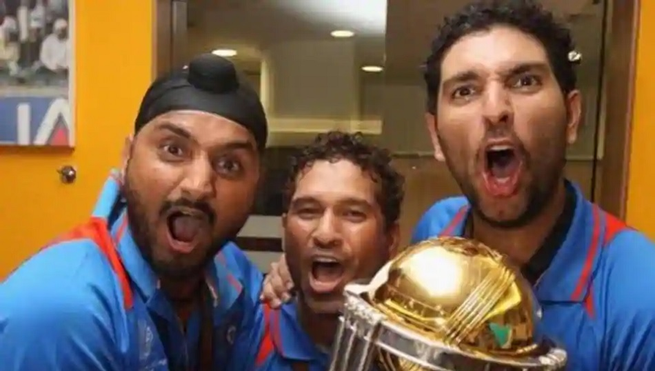 Harbhajan Singh recalled 2011 world cup memory, says it was first time when he saw sachin dancing
