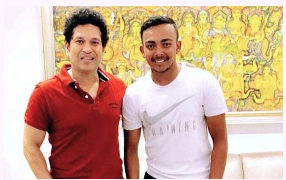 Sachin Tendulkar says he have had talk with Prithvi Shaw on cricket and life