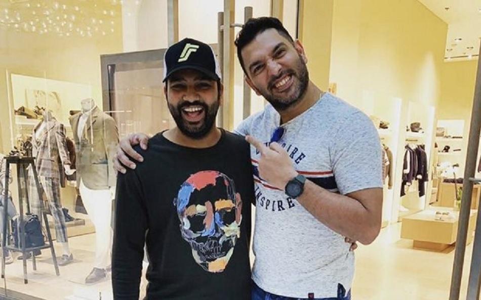 रोहित शर्मा ने युवराज सिंह से बताया कौन है उनका सबसे बड़ा 'क्रिकेट क्रश'