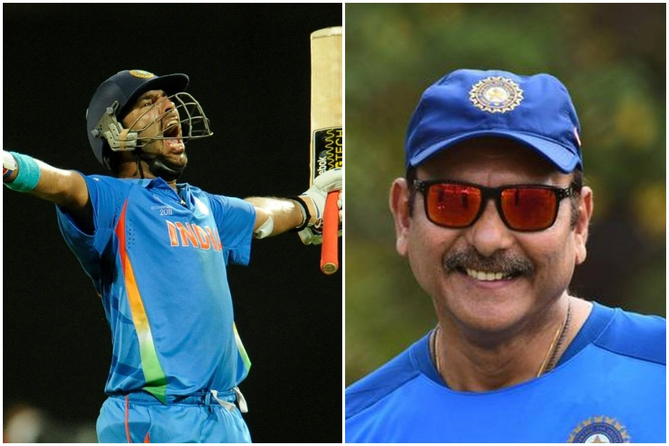 Ravi Shastri tag Sachin and Kohli in 2011 world cup win, later replied on interrupted by Yuvraj Singh
