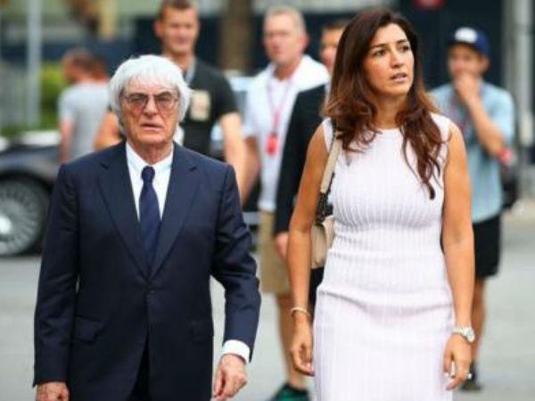बर्नी की तीसरी पत्नी हैं फैबिना, 2012 में की थी शादी