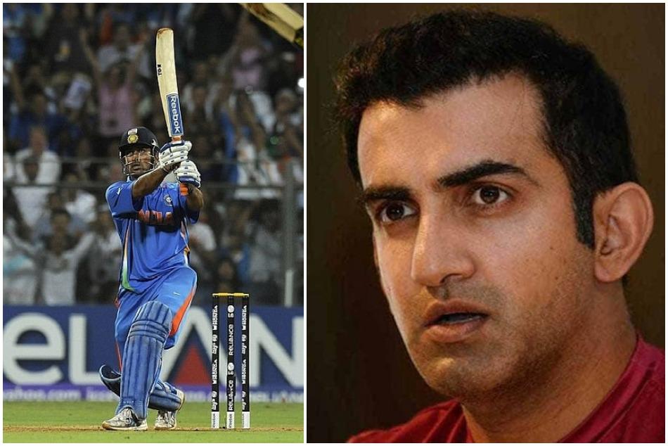 Gautam Gambhir gives harsh reaction on glorifying MS Dhoni six in 2011 world cup final