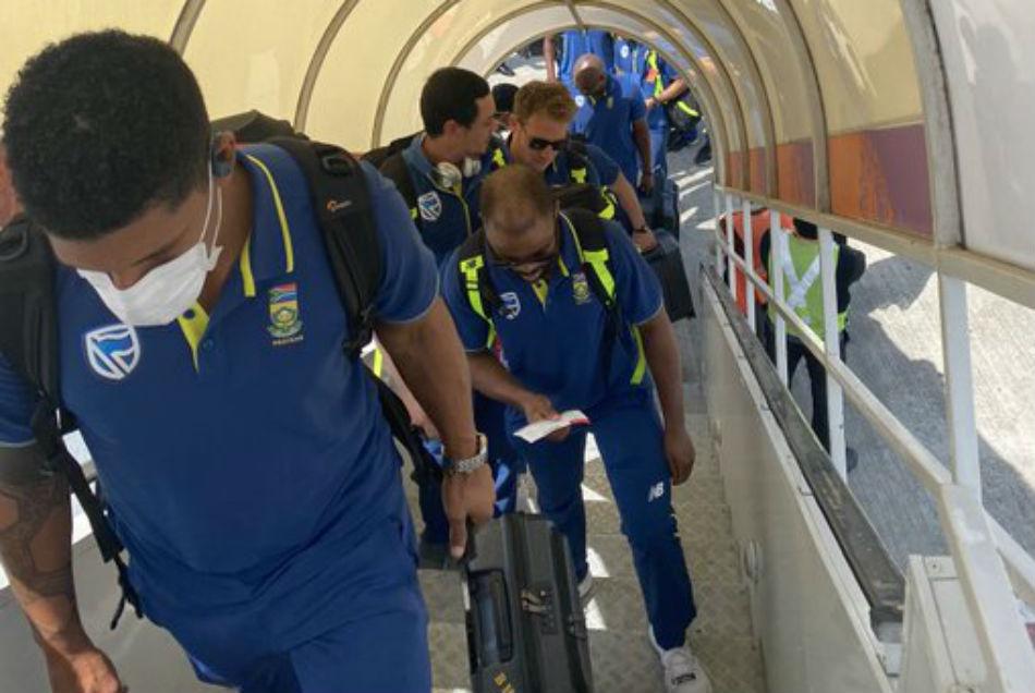Coronavirus : साउथ अफ्रीका टीम के सभी खिलाड़ियों की रिपोर्ट आई नेगेटिव
