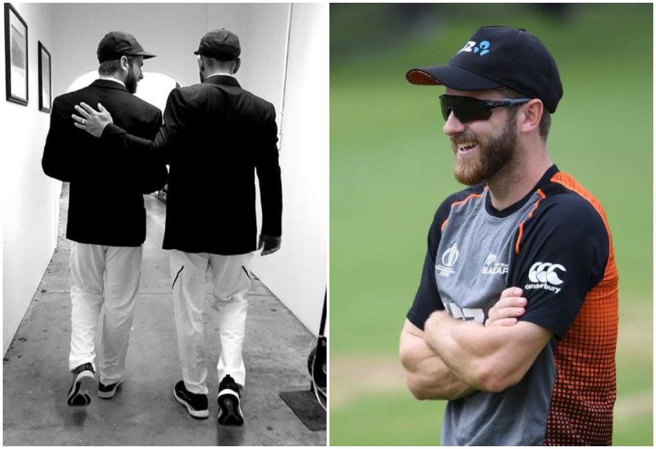 Virat Kohli shares a photo with Kane Williamson, later responded with hilariously