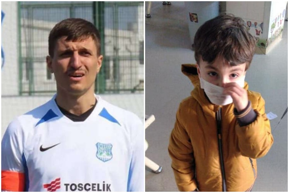 Turkish footballer admitted to killing his son in hospital who was there in suspect of Coronavirus