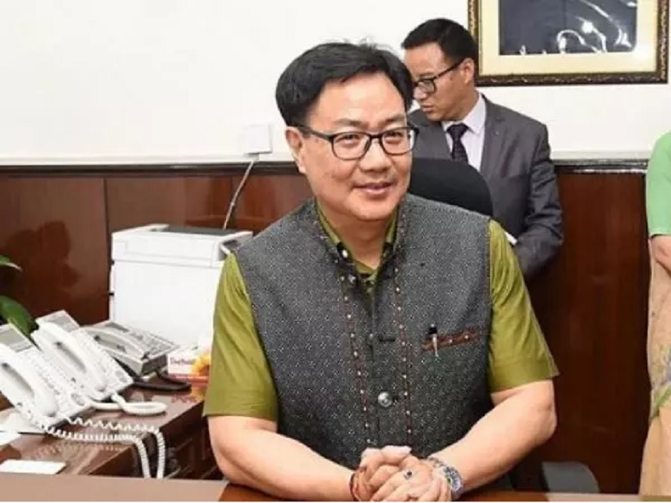 Kiren Rijiju says any sports federation can organize a sports event under given rules