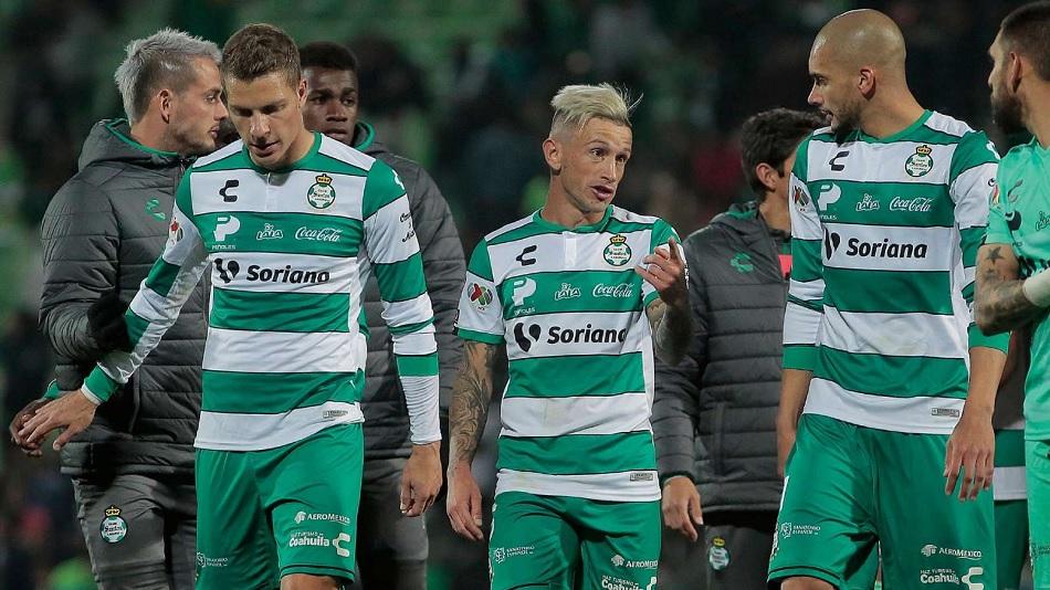 Eight players of Mexican Football club Santos Laguna test positive for coronavirus