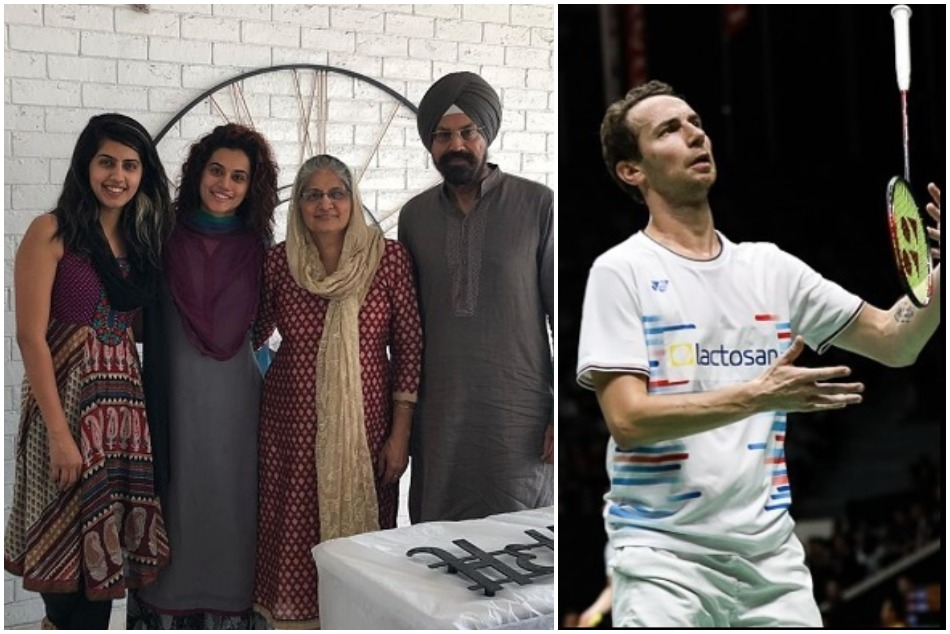 Taapsee Pannu is in relationship with a badminton player, her family reacts on it