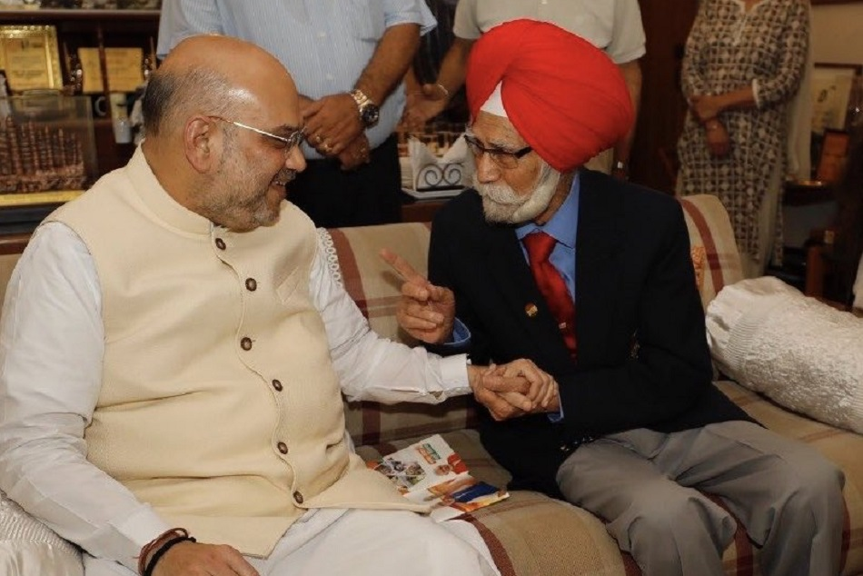Amit Shah Mourns The Death Of Hockey Player Balbir Singh