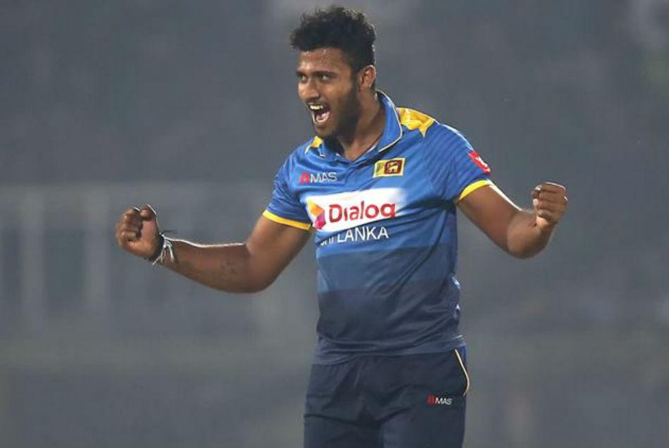 वनडे डेब्यू में हैट्रिक लेने वाले श्रीलंकाई खिलाड़ी को पुलिस ने पकड़ा, ड्रग्स रखने का आरोप