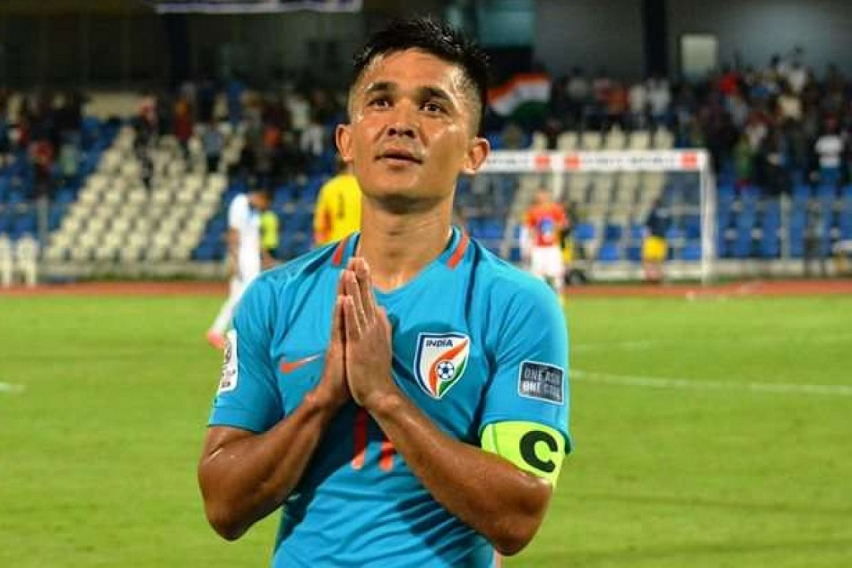 Sunil Chhetri Indian Football Team Captain Found Covid 19 Positive