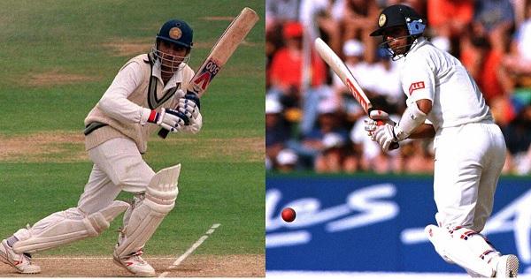 अपने डेब्यू मैच में नंबर 7 पर की थी द्रविड़ ने बैटिंग-