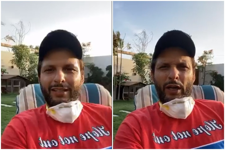 Shahid Afridi gives him health update after affected by Covid-19, Watch