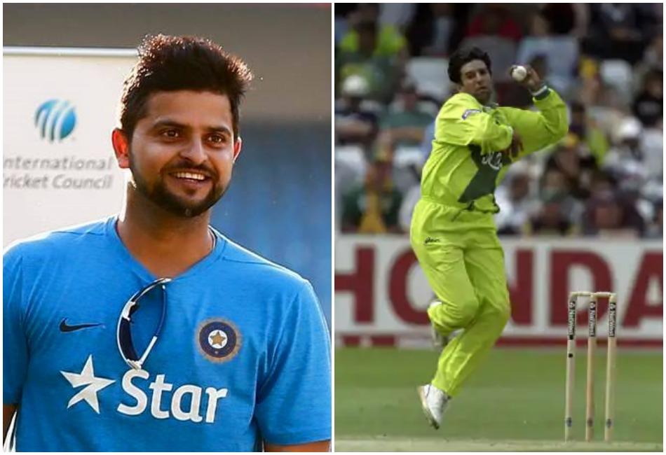 सीधे वसीम अकरम से हुई थी इस भारतीय तेज गेंदबाज की तुलना: सुरेश रैना