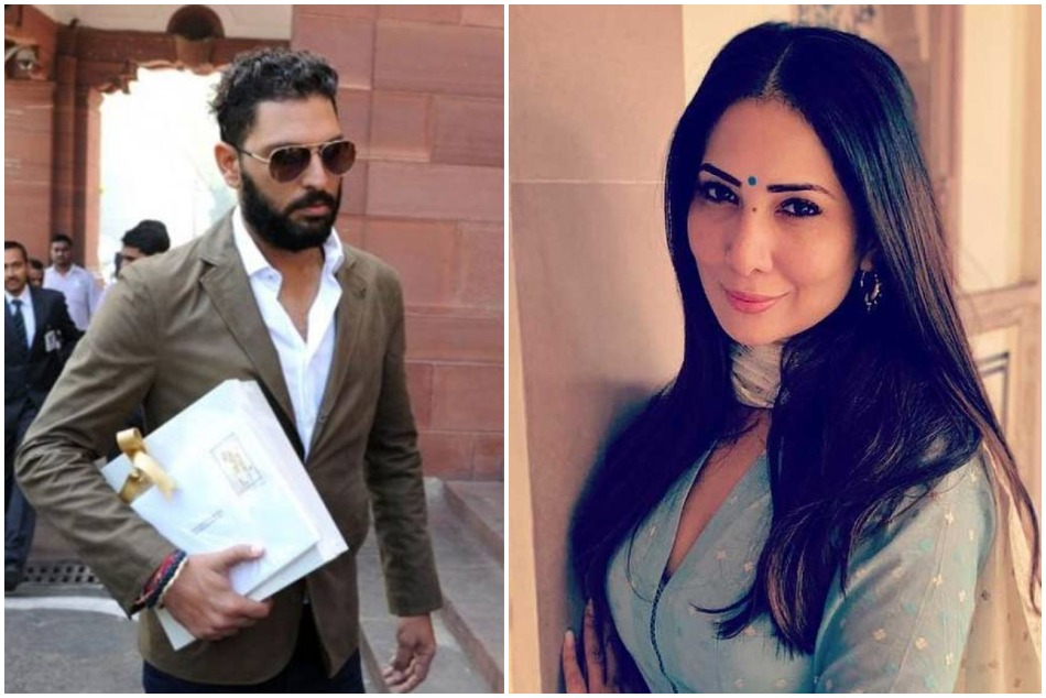 Kim Sharma comments on Yuvraj Singh first retirement anniversary post to his fans