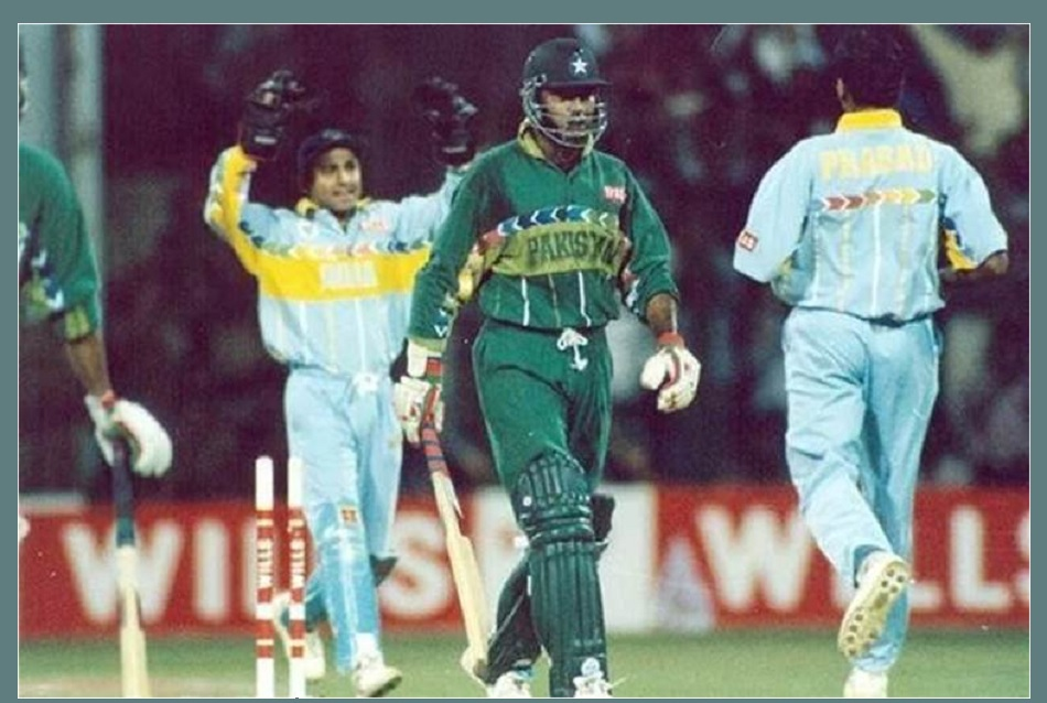 Venkatesh Prasad recalled incident with Aamer Sohail in 1996 world cup