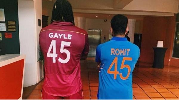 क्रिस गेल और रोहित शर्मा की जोड़ी से शुरुआत-