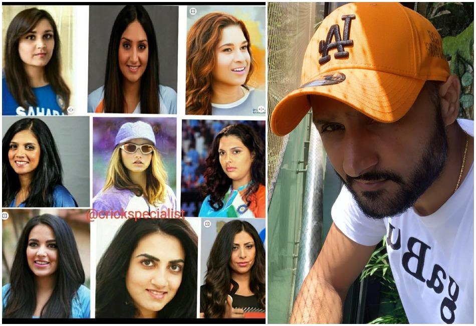 Harbhajan Singh shares Sachin-Dravid-Sehwag female versions, Sourav Ganguly looks like Sania Mirza
