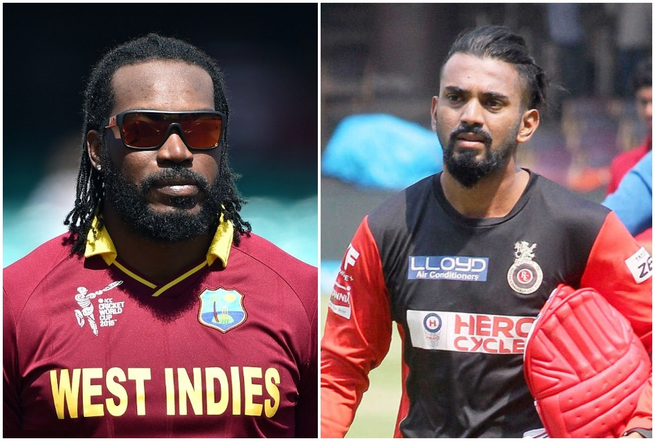 Kl Rahul reveals when he first time saw chris gayle in angry and hungry mood against Rashid Khan