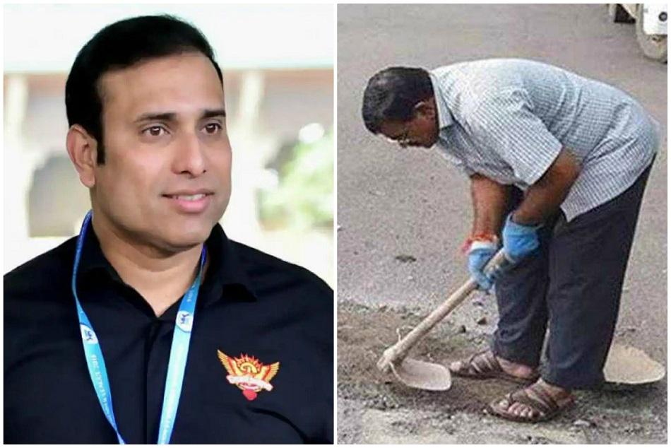जिस सड़क के गड्ढे के कारण हुई बेटे की माैत, उसे आज भी मिट्टी से भरता है पिता