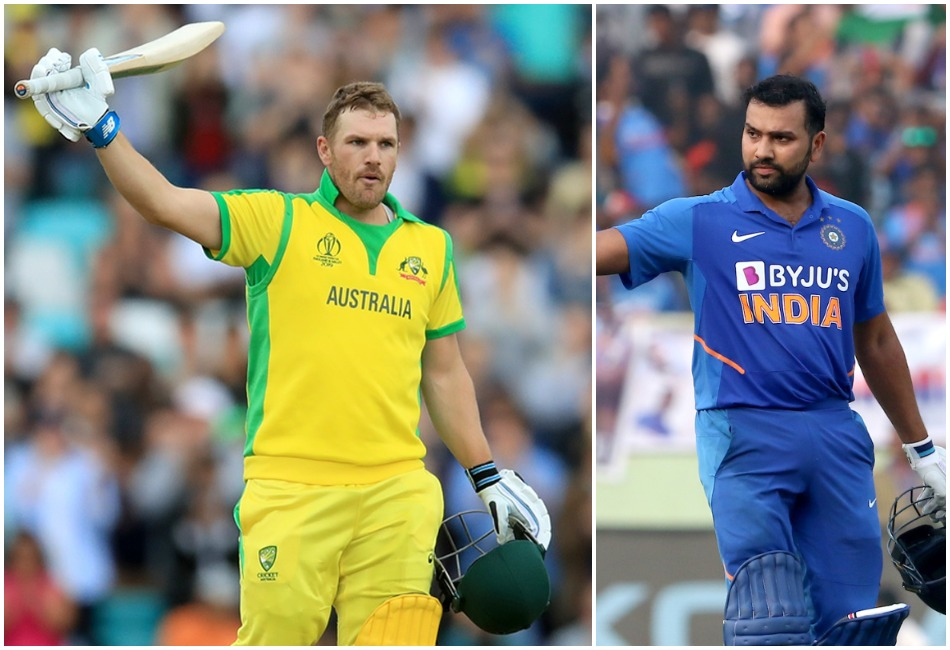Aaron Finch named his combined India and Australia all time ODI eleven