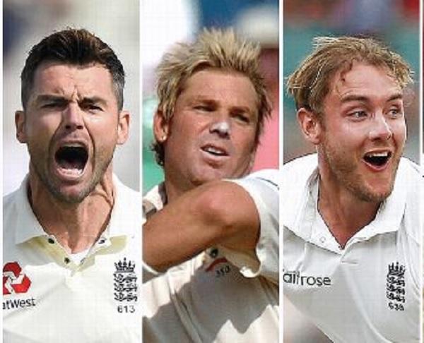 एंडरसन ने बिना कप्तान बने खेल लिए सर्वाधिक टेस्ट-