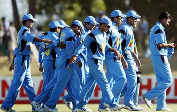 2003 वर्ल्ड कप की टीम इंडिया-