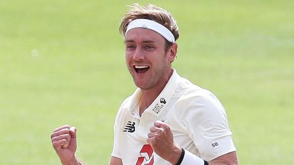 स्टुअर्ट ब्रॉड ने गेंदबाजों की कुलीन सूची में प्रवेश किया