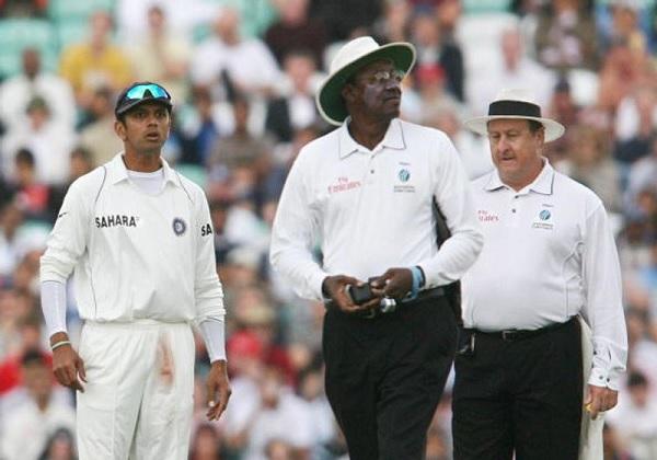 दूसरी गलती- द्रविड़ को आउट दिया, भारत हार गया