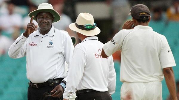 'मंकीगेट कांड' टेस्ट में बकनर थे अंपायर-