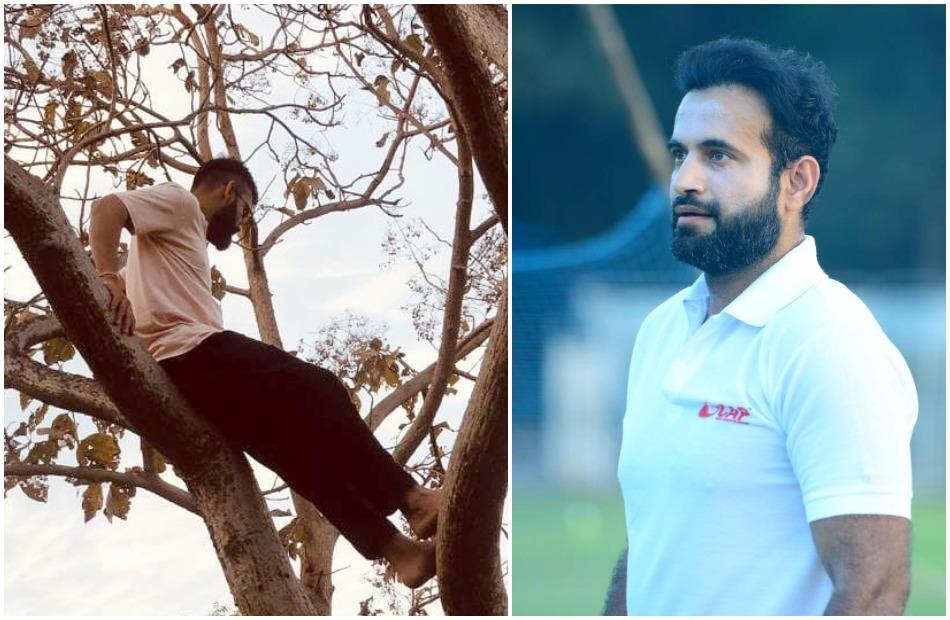 Virat Kohli shares throwback memories in tree climbing, Irfan Pathan asked this question