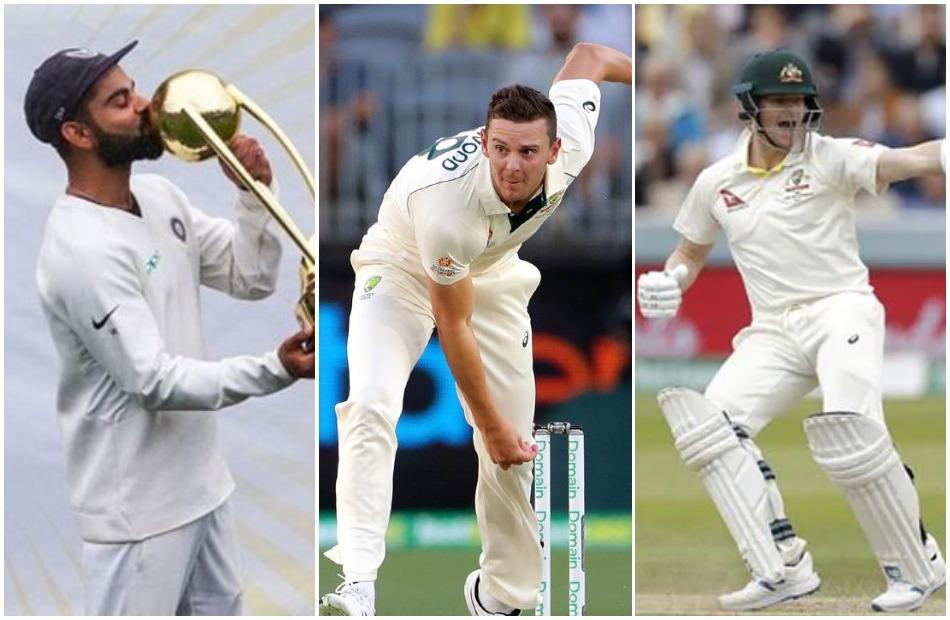 Here is Josh Hazlewood India-Australia test XI, which has both Kohli and Smith