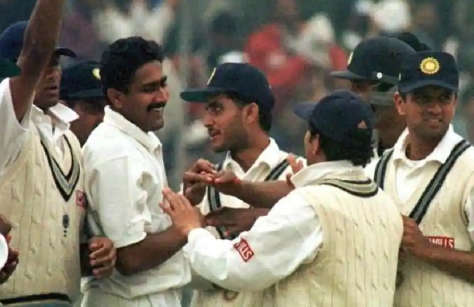 Anil Kumble says he was fortunate enough to have great batsmen in his nets