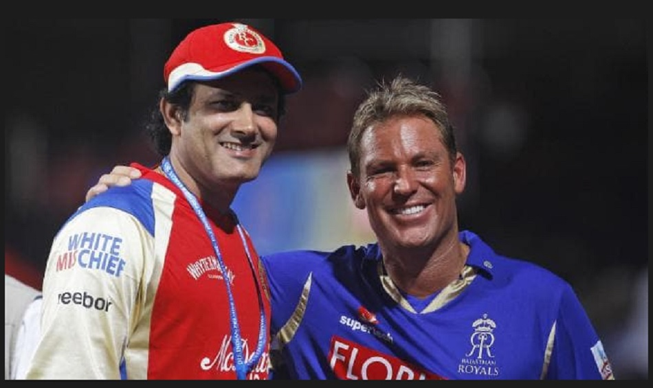 Anil Kumble says he did not understand why he was being compared with the Shane Warne