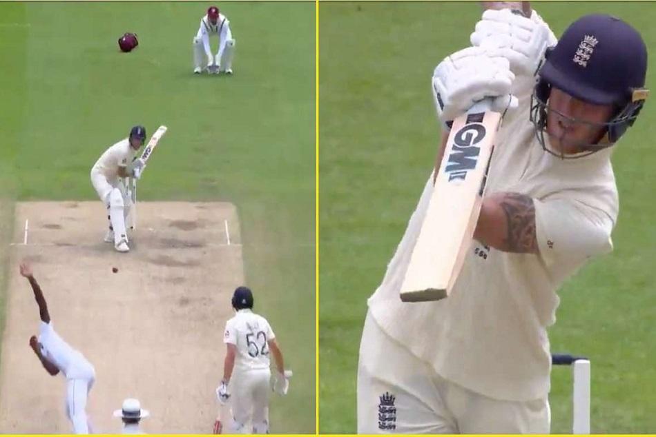 ENG vs WI 2nd Test : बेन स्टोक्स ने जड़ा ऐसा छक्का, जिसे देख सब रह गए हैरान, देखें वीडियो