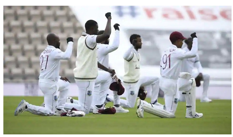Eng vs WI: Both players knelt in support of the Black Lives Matter movement