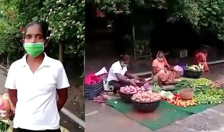 रोजी-रोटी के लिए सड़क पर सब्जियां बेचने को मजबूर हुई एथलीट, झारखंड के CM ने की मदद