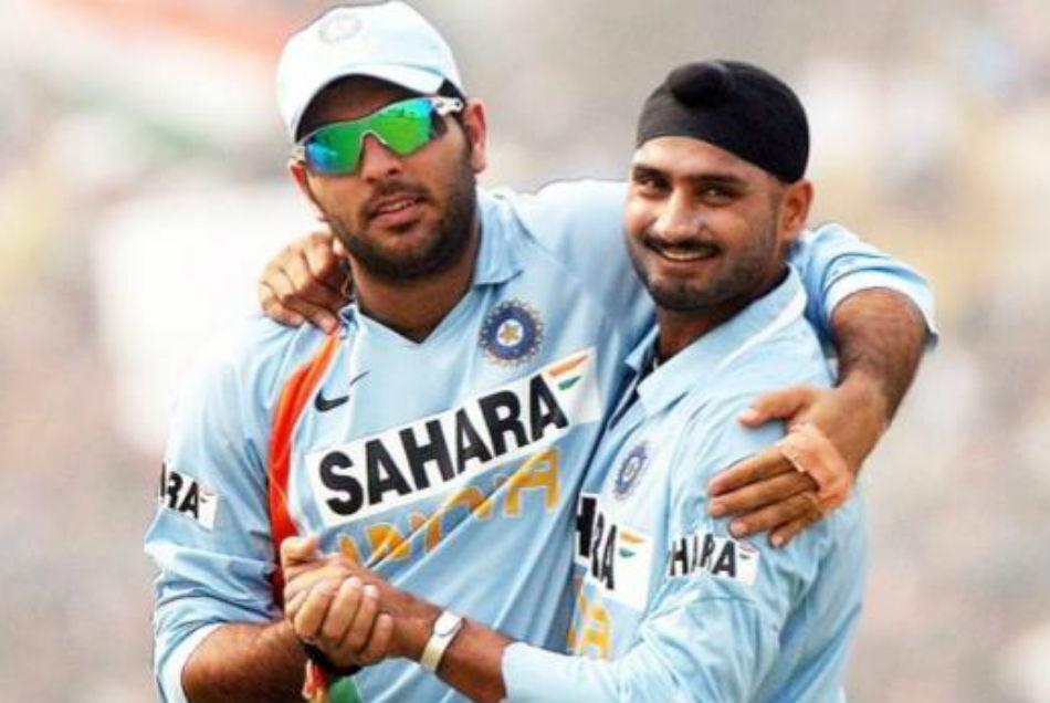 Yuvraj Singh pulls Harbhajan Singh leg on his 40th birthday