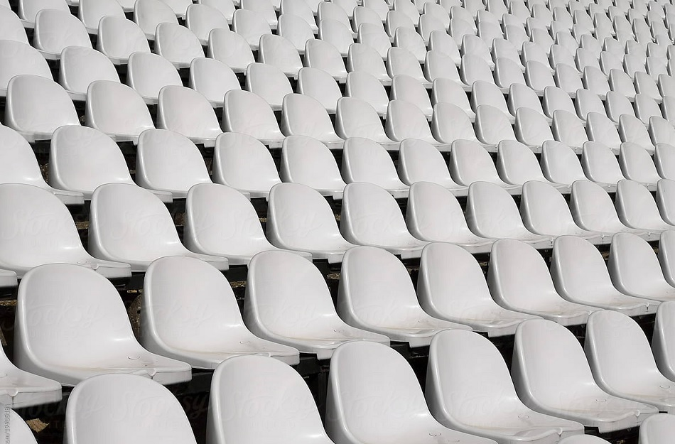 In England white seats in empty stadium become problem for Ireland, ball visibility suffers