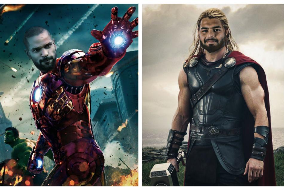 THOR बनें ऋषभ पंत तो Iron Man सूट में नजर आये धवन, DC ने शेयर किया खिलाड़ियों का सुपर हीरो वर्जन