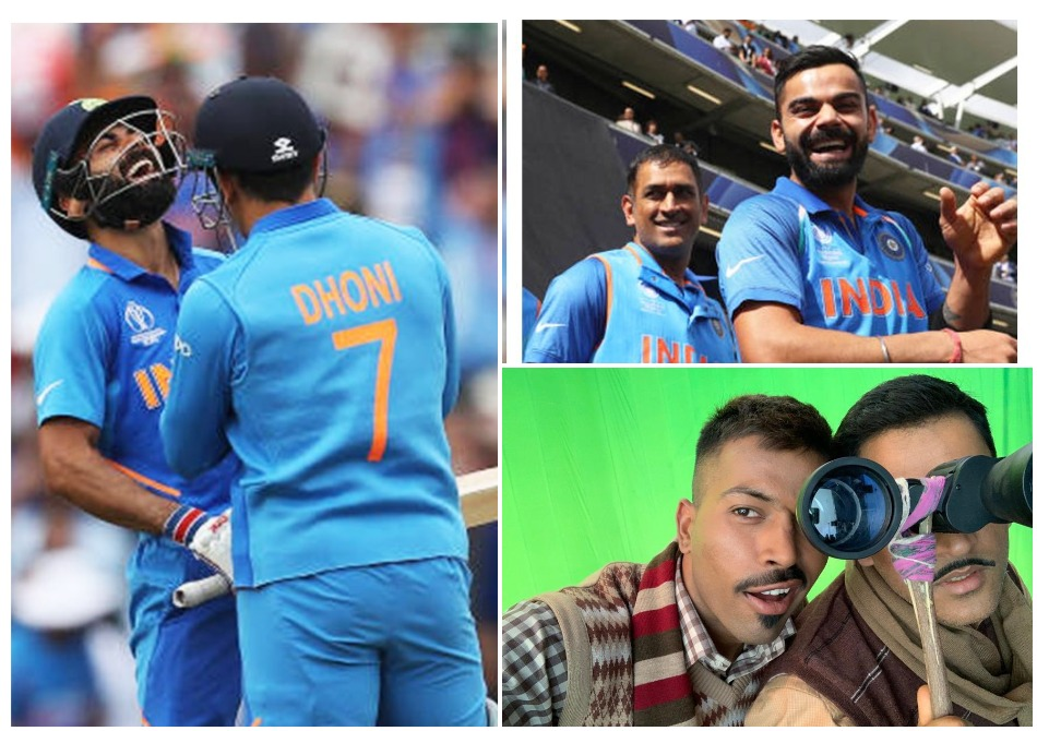 Virat Kohli and company along with former cricketer wish MS Dhoni on his 39th Birthday