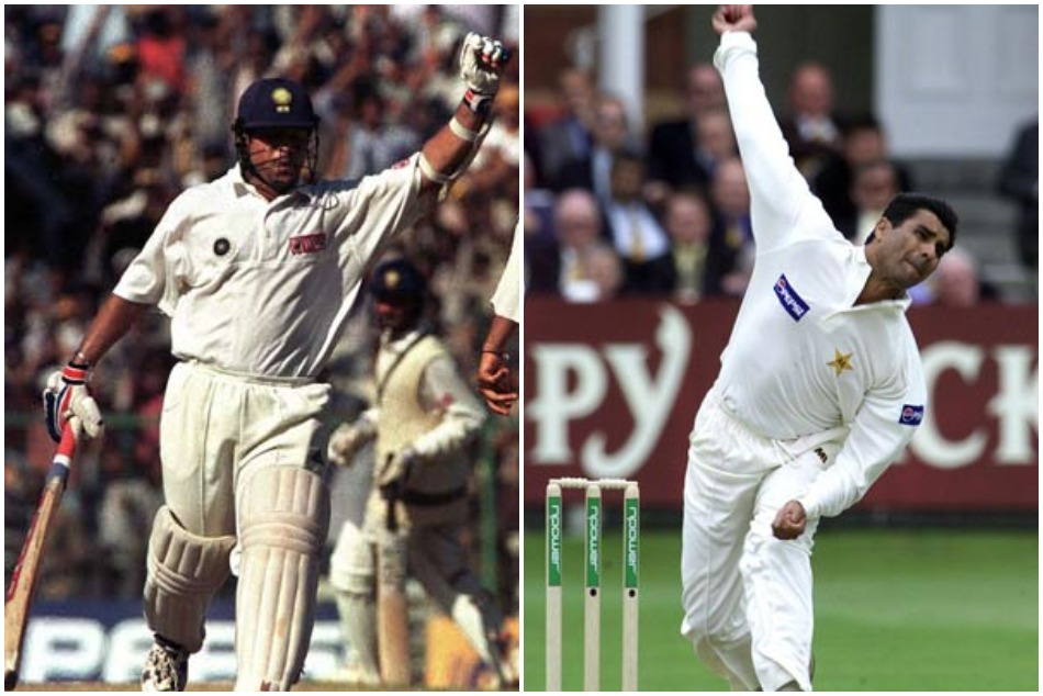 Waqar Younis narrates how he still do not get why Sachin Tendulkar out in IND vs PAK chennai Test