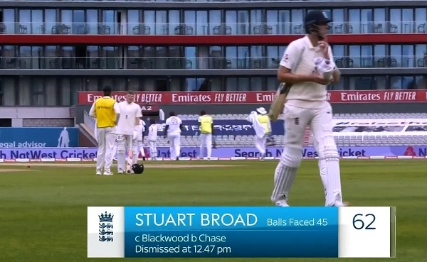 इंग्लैंड के लिए तीसरे तेज अर्धशतक ठोका-