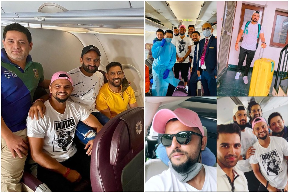 IPL 2020: MS Dhoni and his CSK mates flouted the rules of social distance, fans raised questions