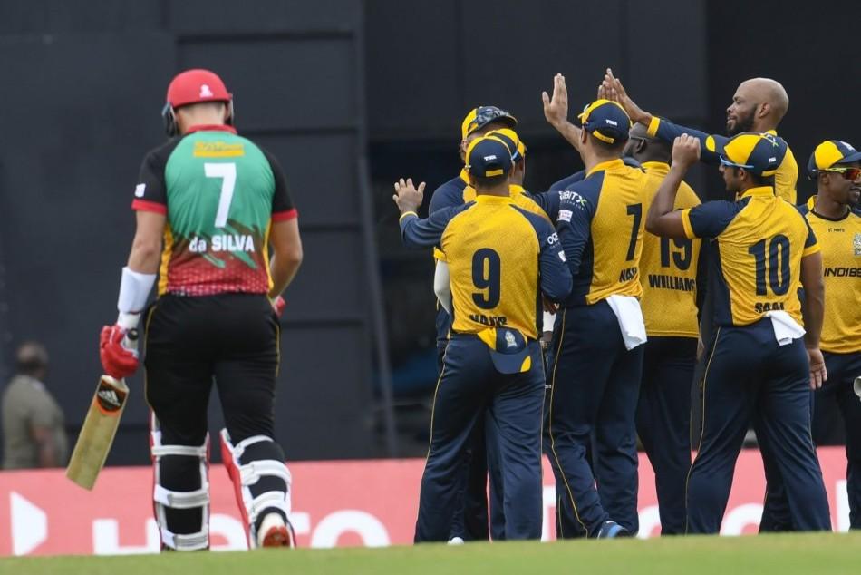 CPL 2020: St Lucia Zouks beat St Kitts & Nevis Patriots by 10 runs, Roston Chase, Scott Kuggeleijn bowled well