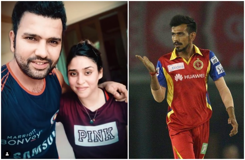 Yuzvendra Chahal asked to Rohit Sharma if his wife Ritika Sajdeh is going to open in IPL 2020Yuzvendra Chahal asked to Rohit Sharma if his wife Ritika Sajdeh is going to open in IPL 2020